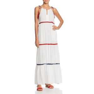 RED CARTER Tiered Maxi Dress Coverup Swim